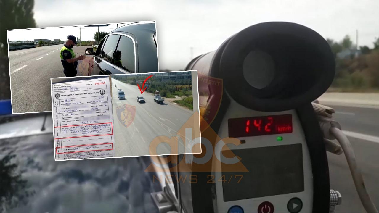 Kontrollet me radarë dhe dronë çojnë në pranga 53 shoferë, hiqen 234 patenta