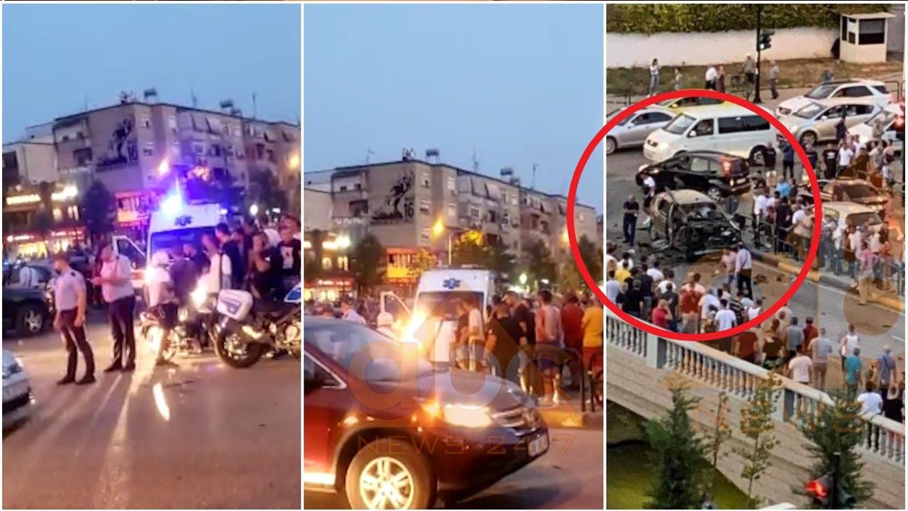 Shpërthim i fuqishëm në qendër të Tiranës, dy të plagosur