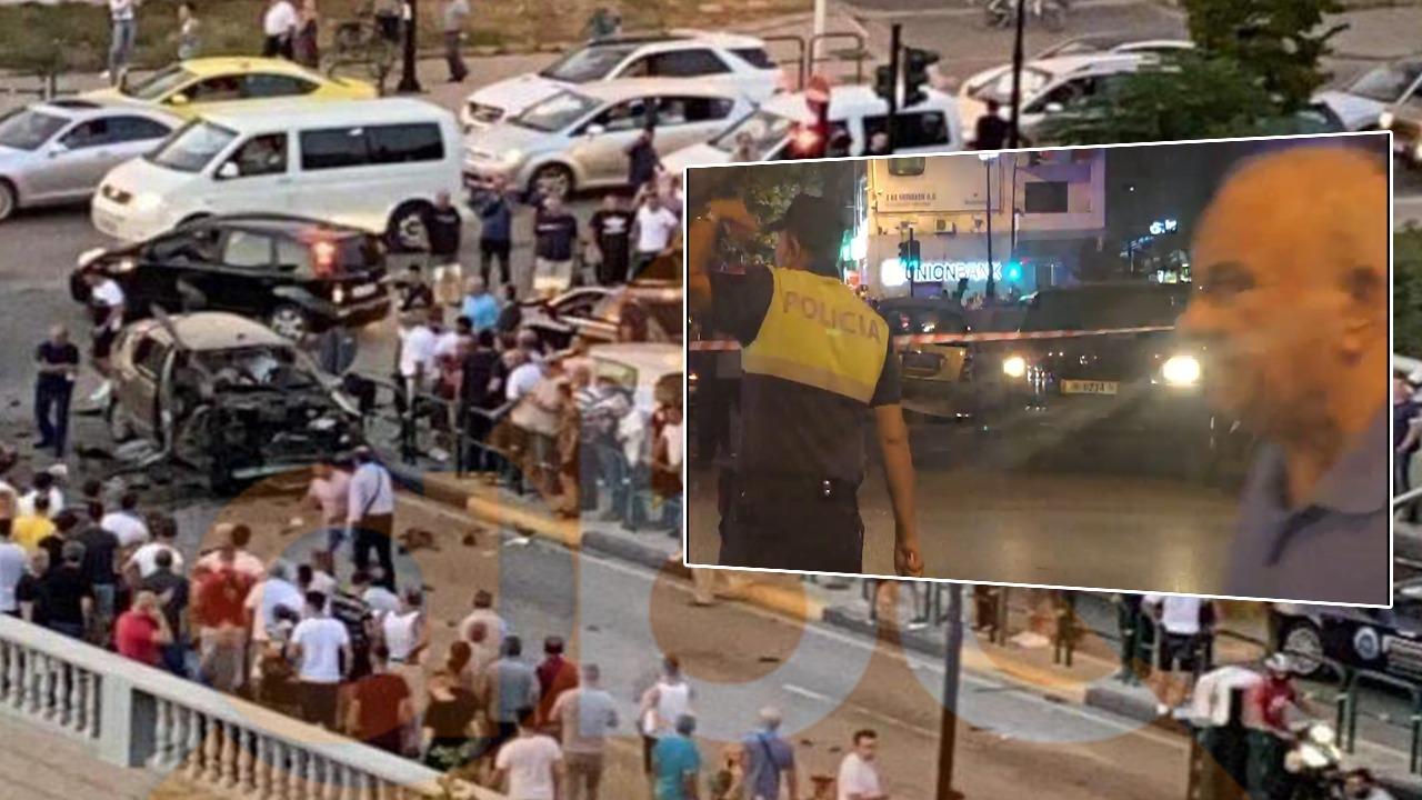 """VIDEO/ Pamje të rënda nga atentati me eksploziv tek """"Vasil Shanto"""""""