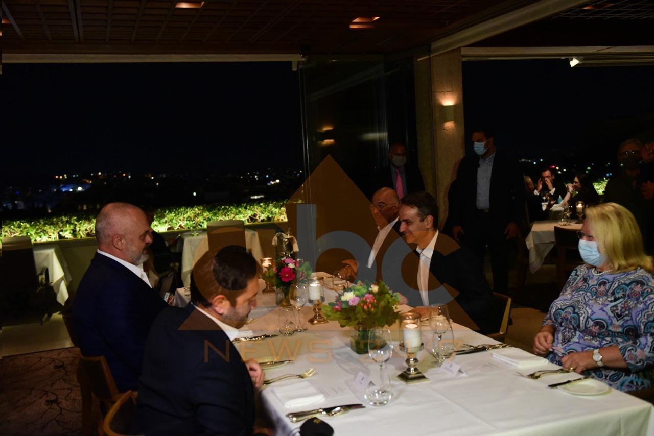 Nga deti, minoriteti dhe integrimi, dalin detajet e bisedës gjatë darkës Rama-Mitsotakis