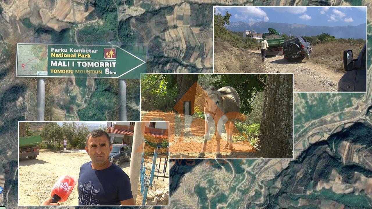 Mbi 30 vjet pa investime, rruga e fshatit turistik të Peshtanit të Beratit në gjendje të mjerueshme