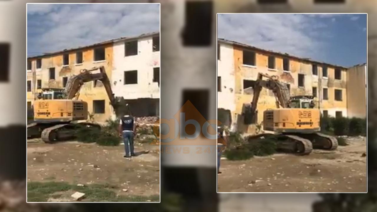 U shpallën të pabanueshme nga tërmeti, IKMT shemb 12 pallate në Valias