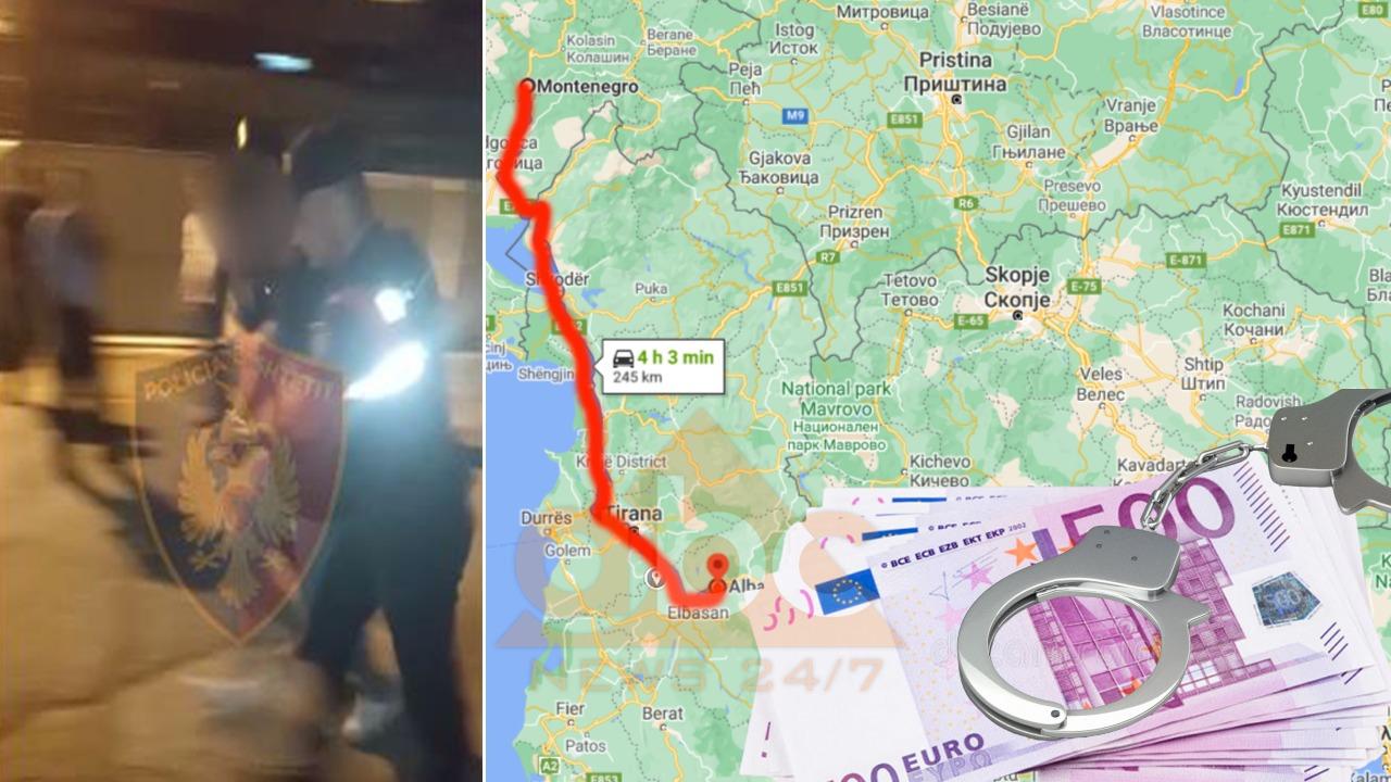 100 € emigrantëve për t'i çuar drejt Malit të Zi, si u kap trafikanti që liroi gjyqtarja pasi mori 6 mijë €