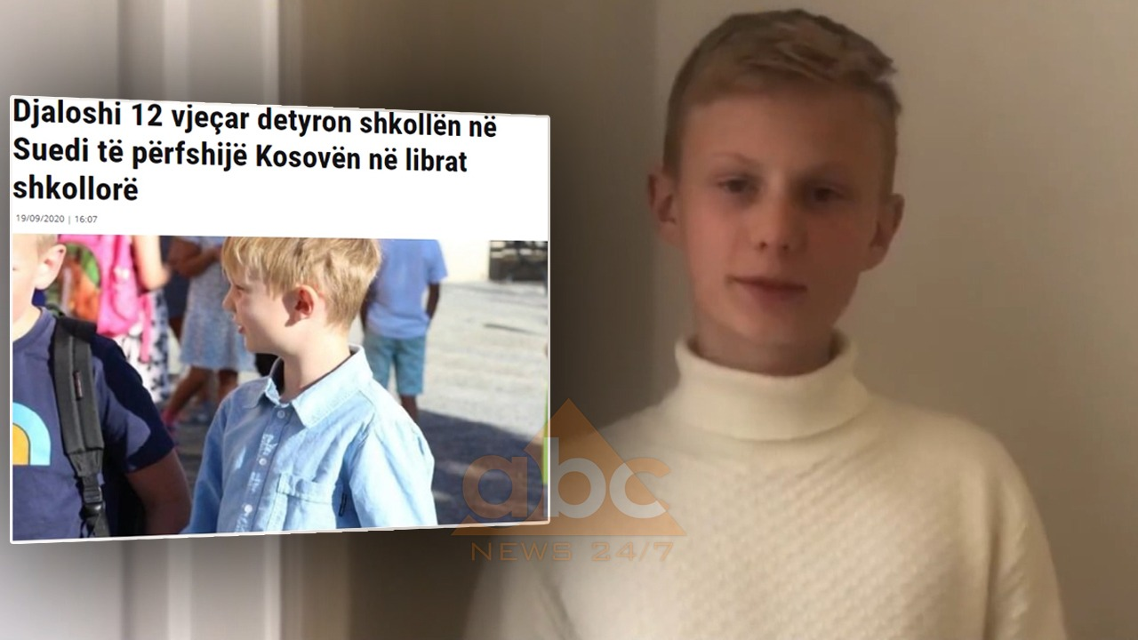 Dielli, 12-vjeçari që bëri Suedinë të fuste Kosovën në hartë