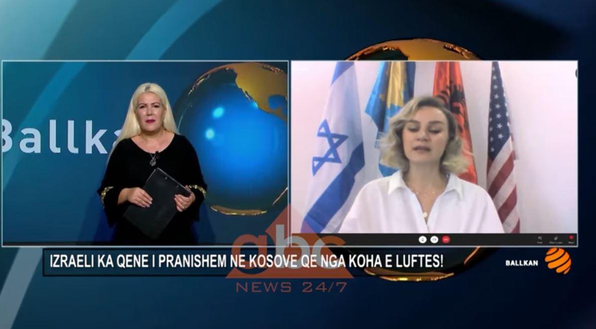 """Artina Hamitaga nga """"Jewish Organization"""" në Prishtinë: Izraeli ka qenë i pranishëm në Kosovë që nga koha e luftës!"""