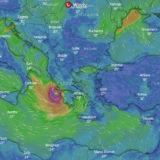 """LIVE/ """"Orët e ardhshme, shumë kritike"""": Cikloni mesdhetar godet brigjet e Greqisë"""