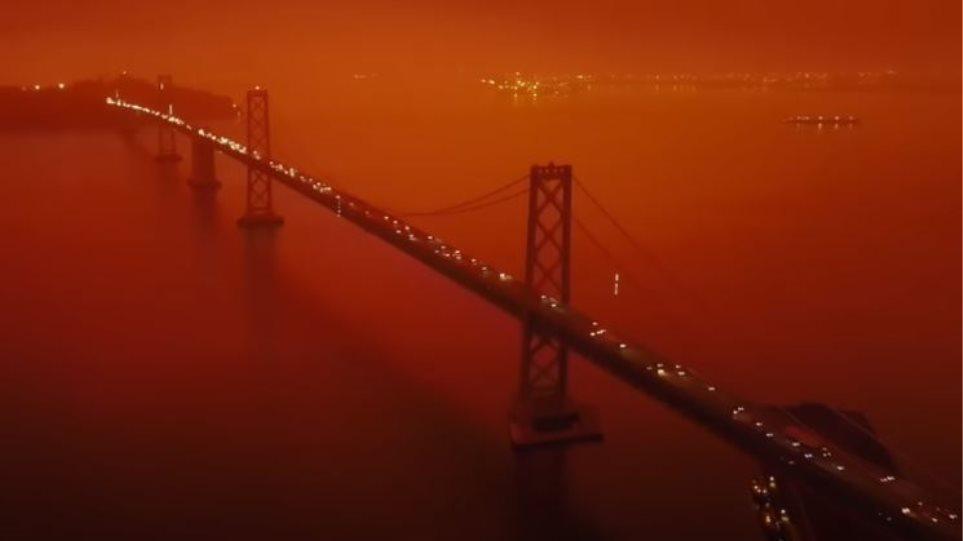 Pamje apokaliptike nga Kalifornia