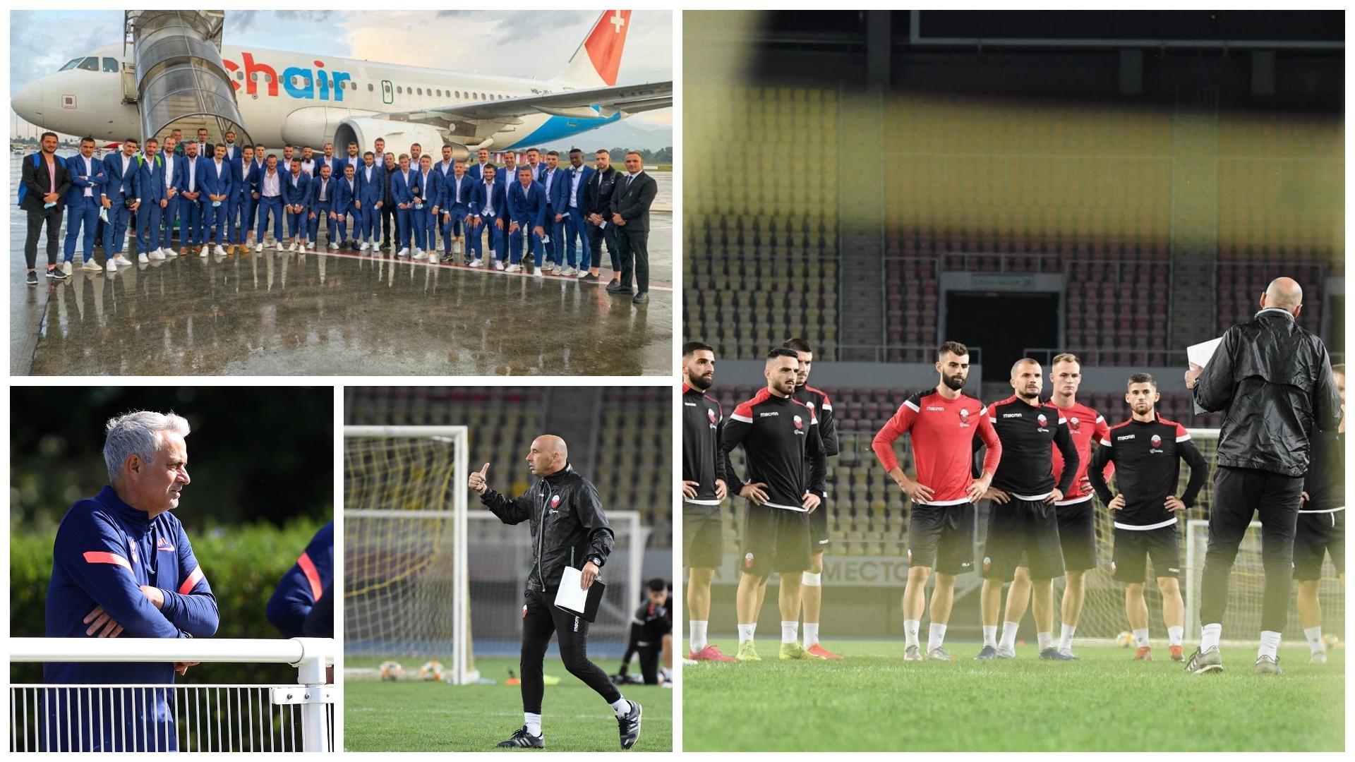 """Polakët e Mourinho """"armiq"""", sa shumë shqiptarë në Europa League"""