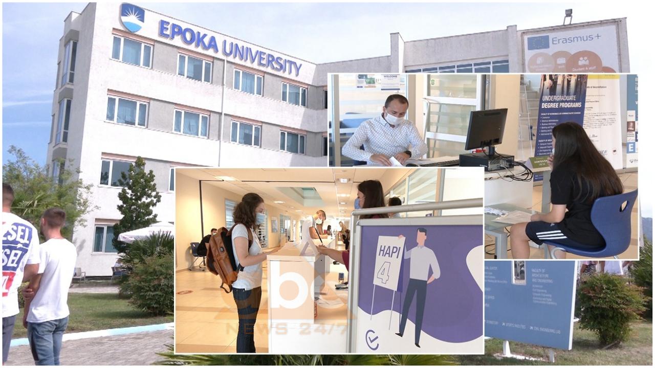 """Nisin regjistrimet në Universitetin """"Epoka"""": Zgjedhja e parë për studentët"""
