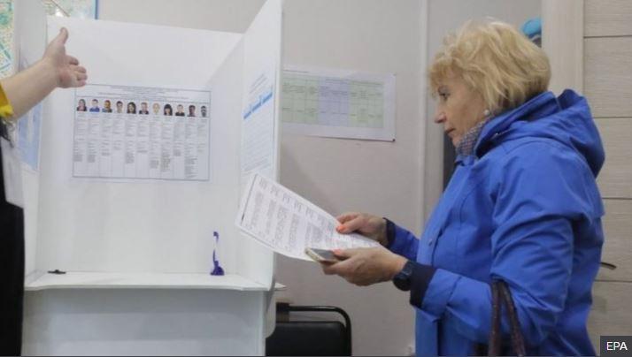 Mbahen zgjedhjet lokale në Rusi, mbështetje për partinë në pushtet