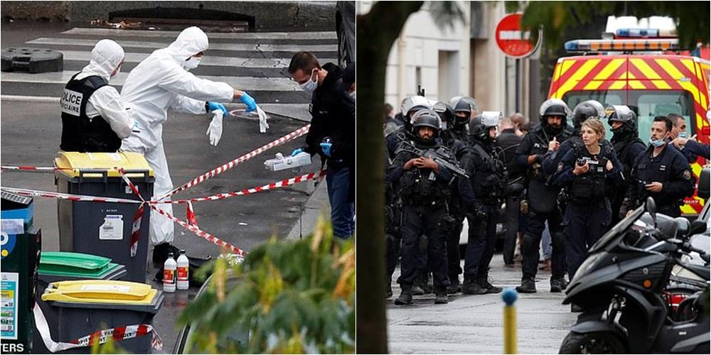 """""""Motivi ende i paqartë"""", sulmi në Paris: Autorët përdorën thikë kasapi, të dy në pranga"""