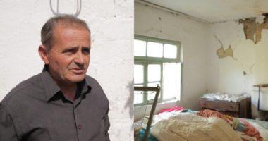 Tërmeti i dëmtoi shtëpinë, banori i Bubqit: Ekspertët thonë duhet prishur, bashkia thotë ke 2 shtëpi