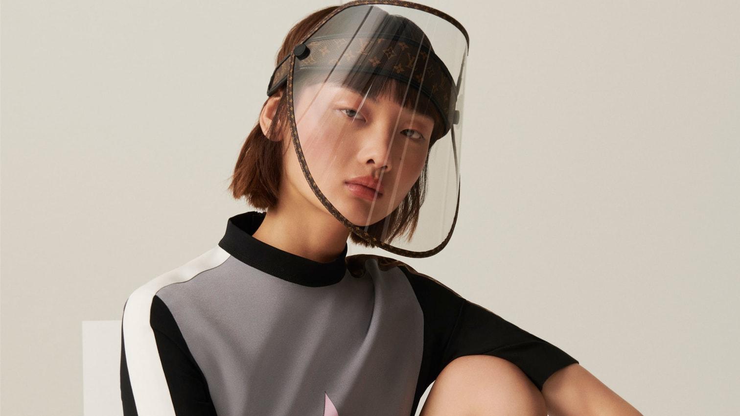 Covid-19: Louis Vuitton krijon mburojën luksoze të fytyrës
