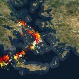 """Cikloni """"Ianos"""" në Greqi ndryshon drejtim, zonat që pritet të godasë sot"""