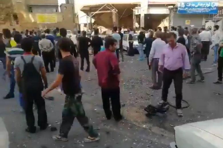 VIDEO/ Shpërthim i fuqishëm në Teheran