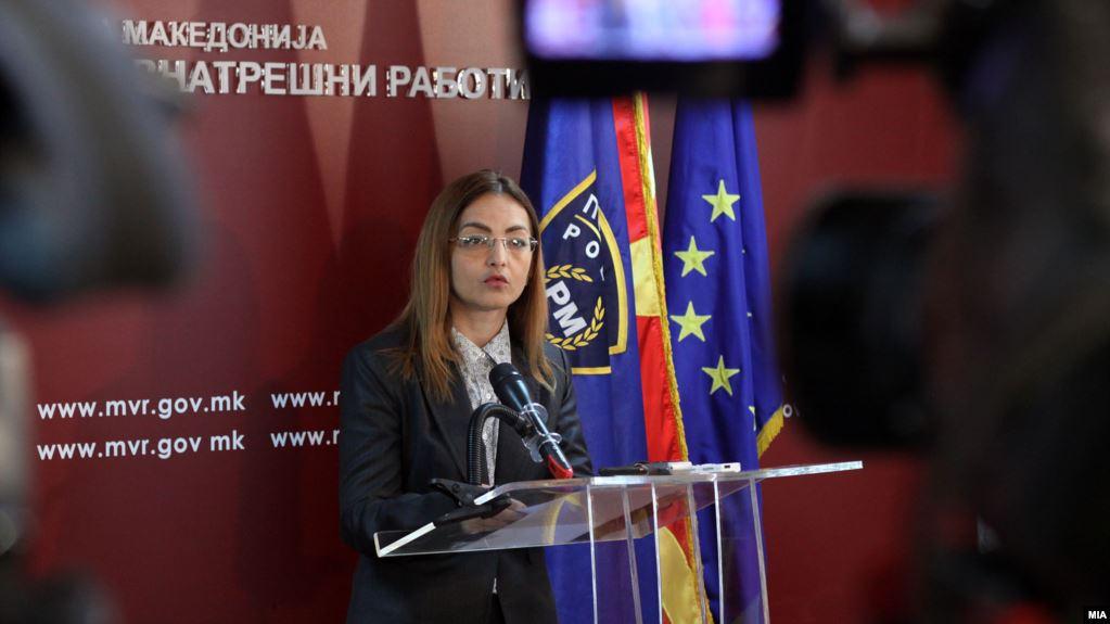 Ish-ministrja e Brendshme në Maqedoninë e Veriut dënohet me 4 vite burg