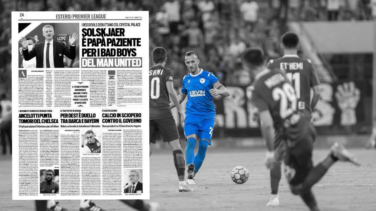 """Artikulli i Tuttosport/ """"Kaos në Shqipëri"""", bojkoti i Superiores kalon edhe Adriatikun"""