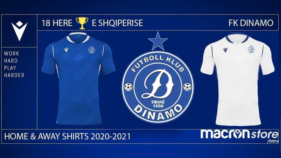 Dinamo prezanton fanellat e reja, zgjedh sponsor teknik italian