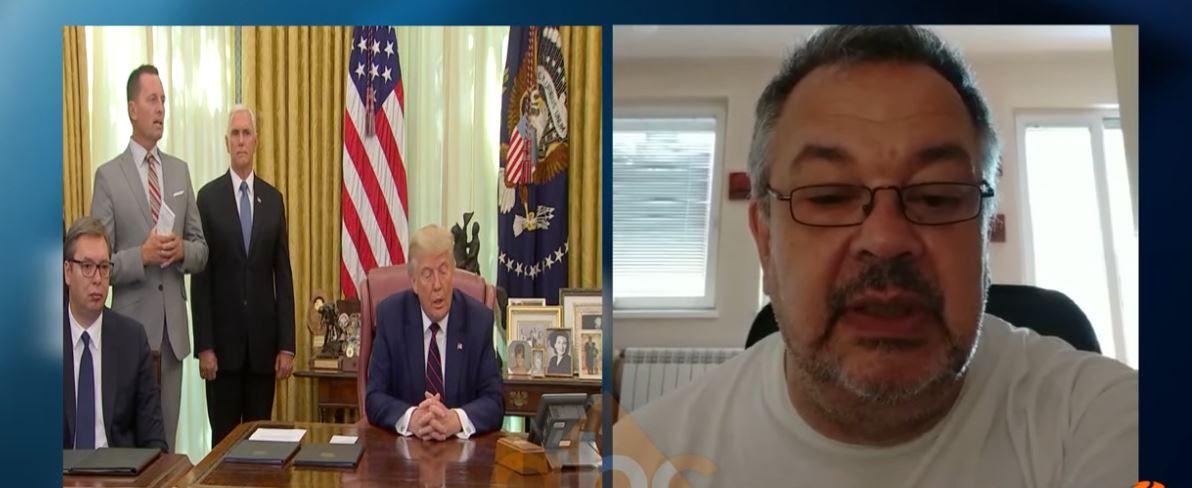 Gazetari serb zbulon atmosferën në Beograd pas marrëveshjes me Kosovën në Shtëpinë e Bardhë