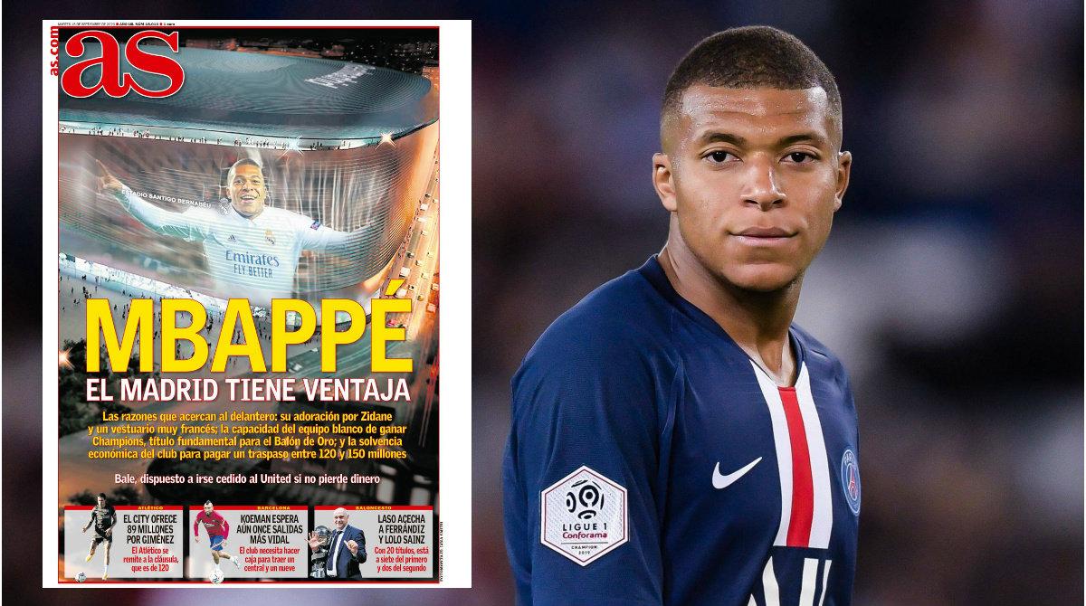 Mbappe-Real Madrid, AS: Si mund të transferohet verën e ardhshme