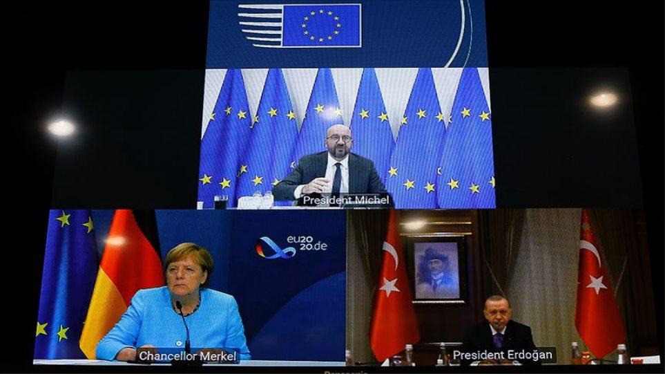 Deti, Erdogan bisedë me Merkel dhe Michel: Dialogu varet nga Greqia