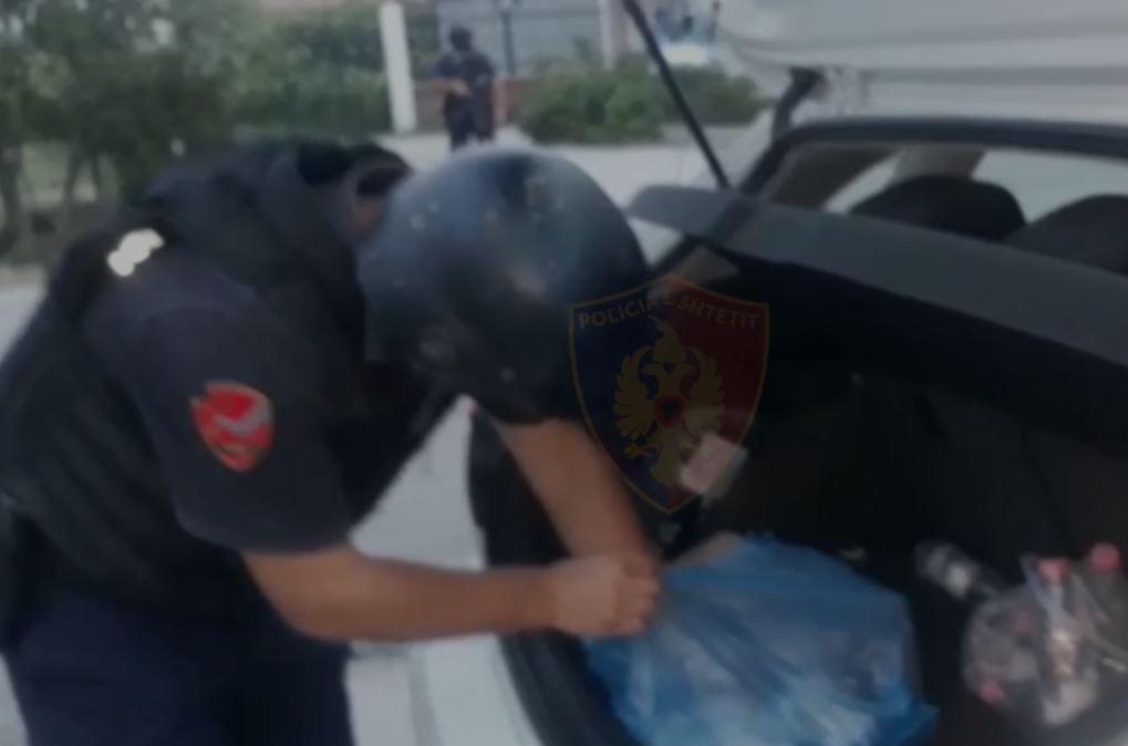 Policia në aksion, 21 persona të arrestuar, sekuestrohet municion luftarak dhe drogë