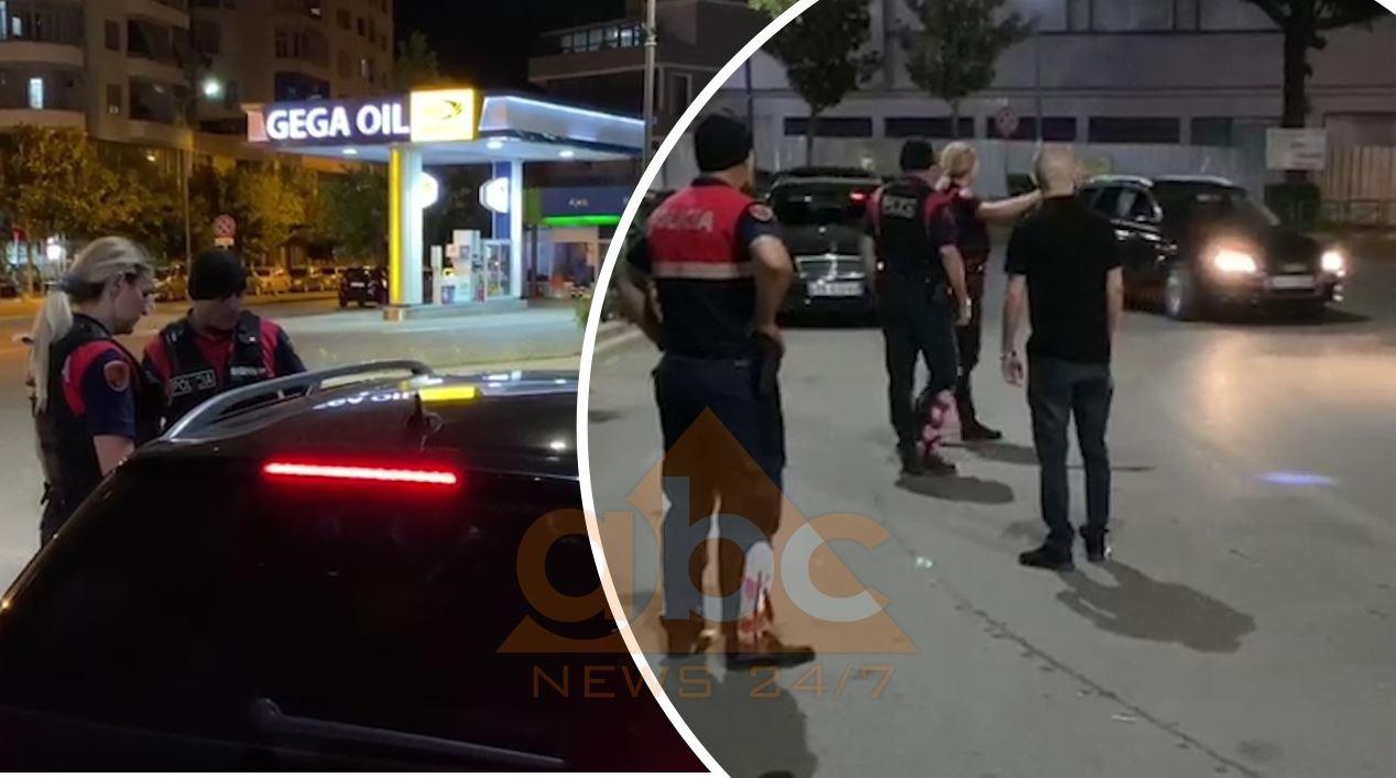 VIDEO/ Forca të shumta policie kontrolle të rrepta në Elbasan