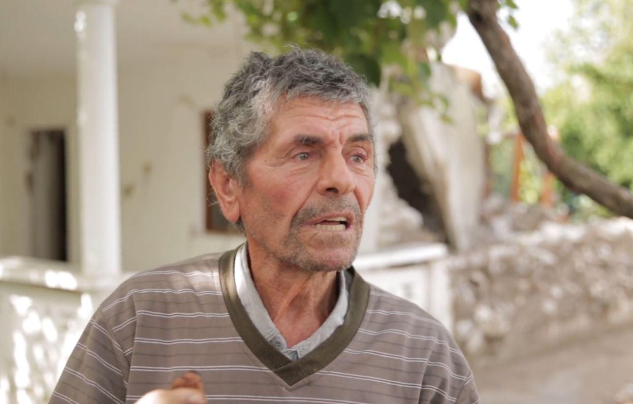 Tërmeti u prishi shtëpinë, çifti i të moshuarve në Kurbin: Asnjë ndihmë, jemi shumë keq