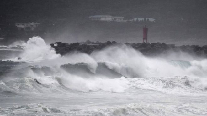 Pas Japonisë, tajfuni Haishen godet Korenë e Jugut