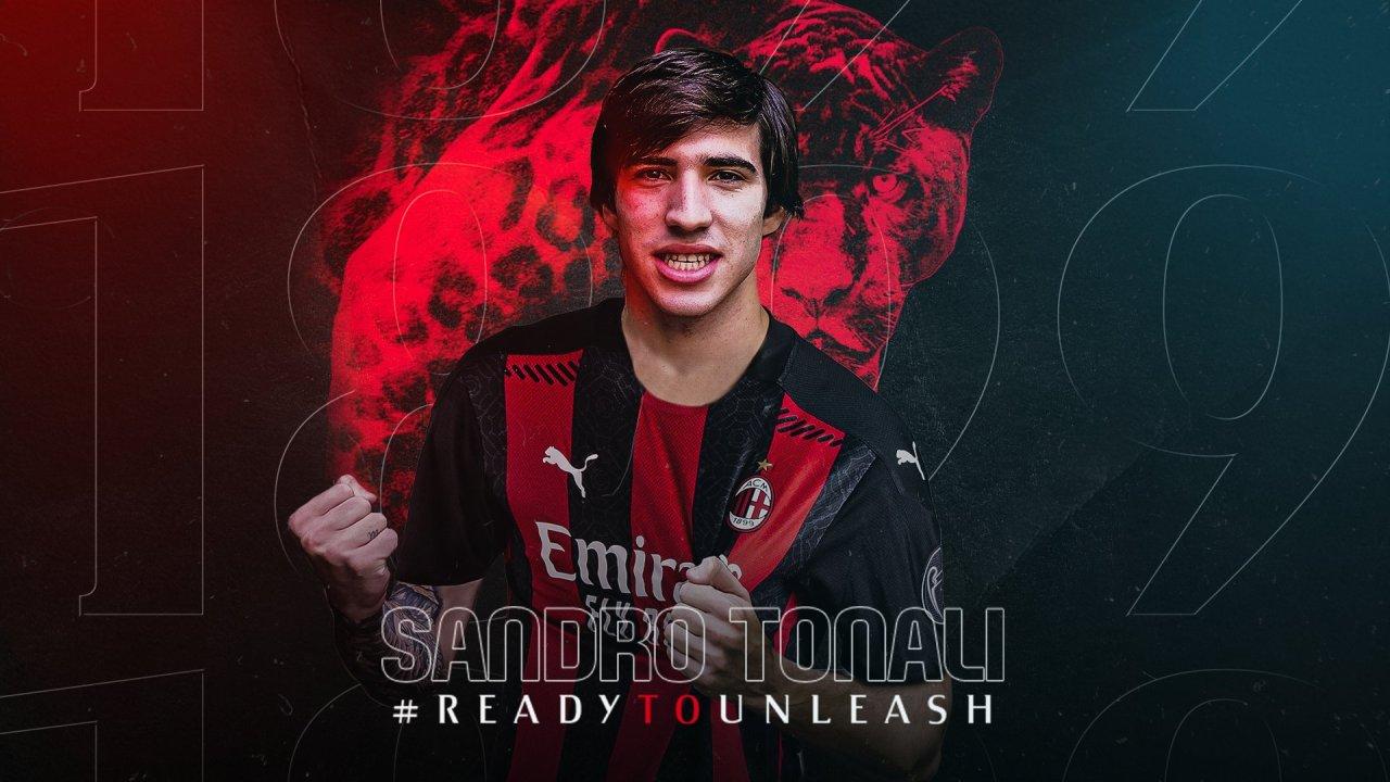 Zyrtare: Sandro Tonali hedh të zezën mbi të bardhë, tani është i Milanit