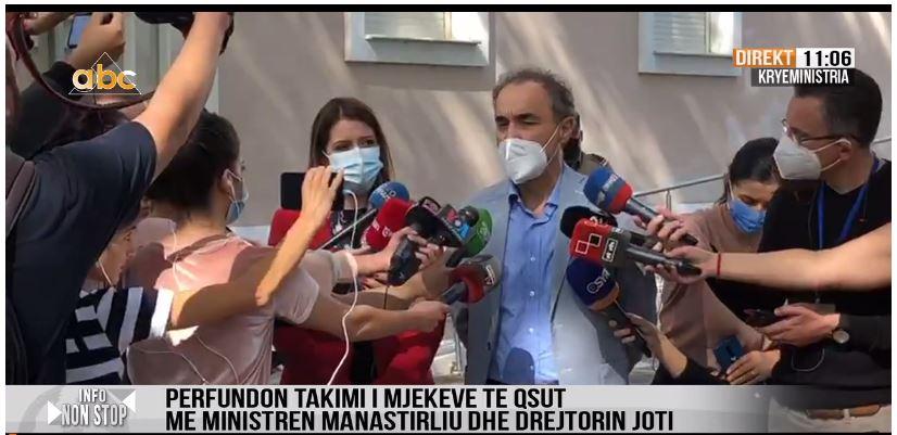"""""""Protesta""""/Manastirliu: Hodhëm bazat e një bashkëpunimi! Stroni: Kërkesat tona u vlerësuan"""