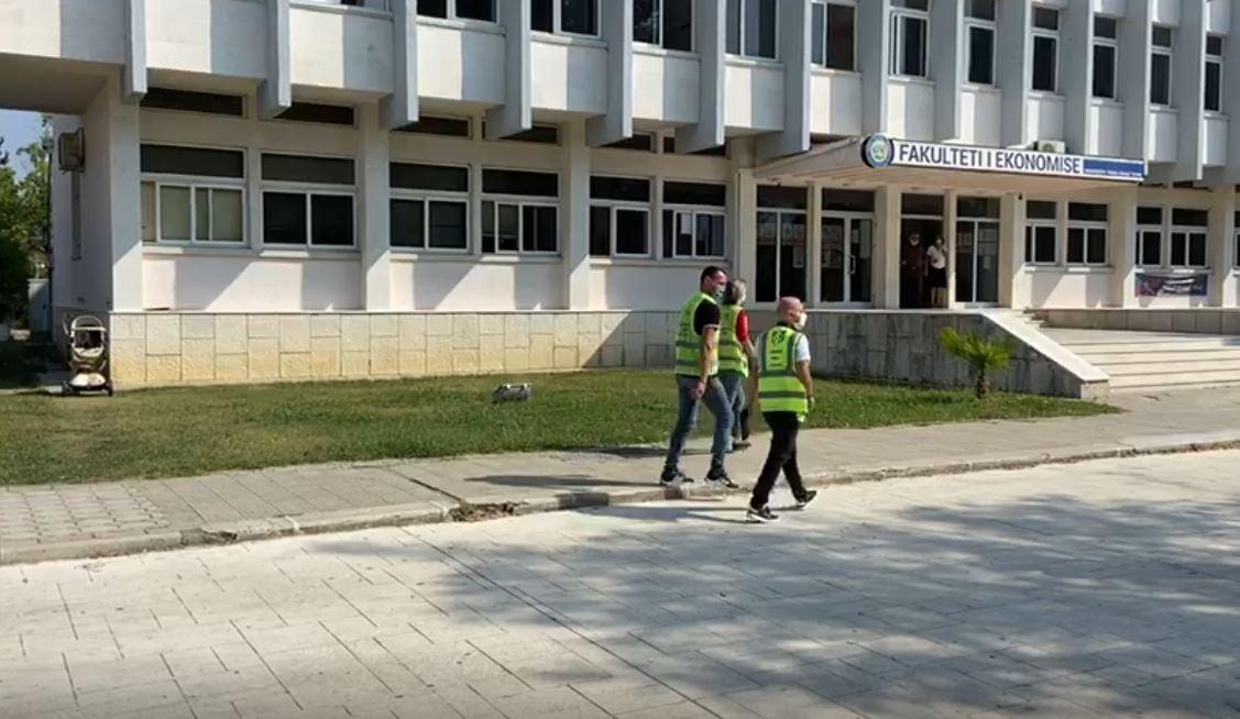 """Tre të infektuar me Covid-19, mbyllet kati i parë dhe i dytë i universitetit """"Ismail Qemali"""" në Vlorë"""