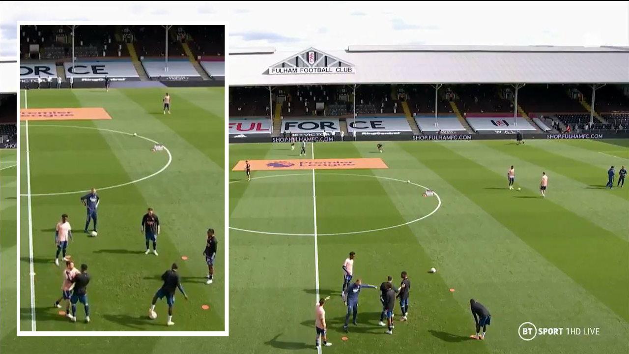 """VIDEO/ """"Xixa"""" mes dy lojtarëve të Arsenal, përplasen para derbit londinez"""