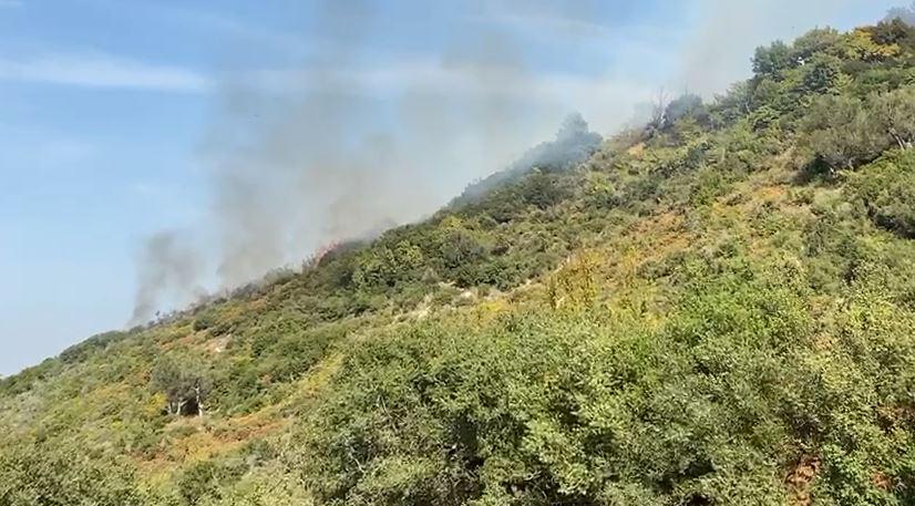 Shpërthen një vatër zjarri në Mavrovë të Vlorës