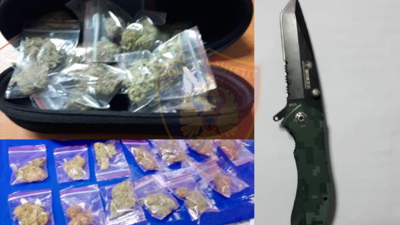 Shpërndante lëndë narkotike në lokal, arrestohet 20-vjeçari