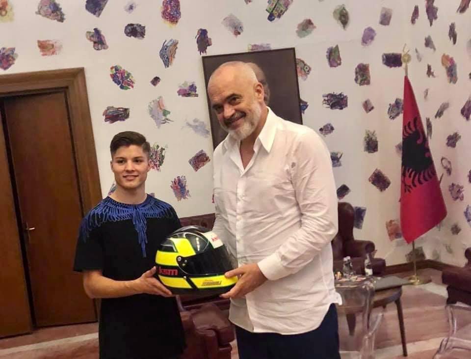 Rama me kampionin nga Maqedonia: Do e shihni me flamurin e Shqipërisë në podiumin e Formula 1