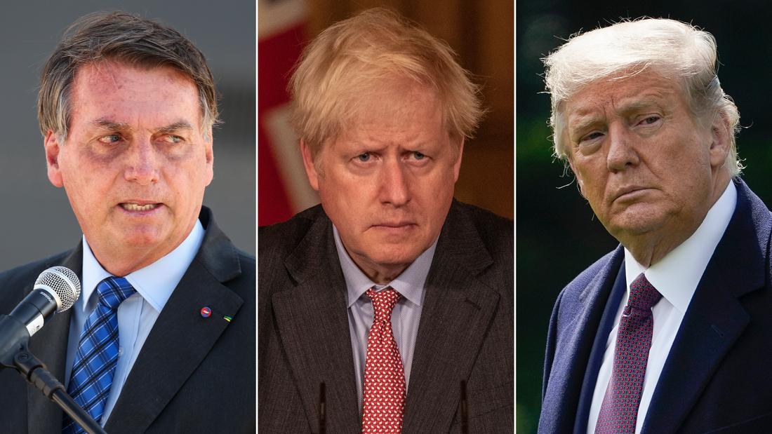 Tre liderët botërorë që u infektuan, neglizhuan rrezikun e Covid-19