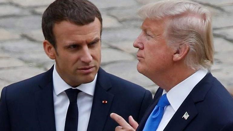 """Prapaskenat, ish-këshilltari """"gozhdon"""" Trumpin: Macron i bëri lajka, por ai nuk ka respekt"""