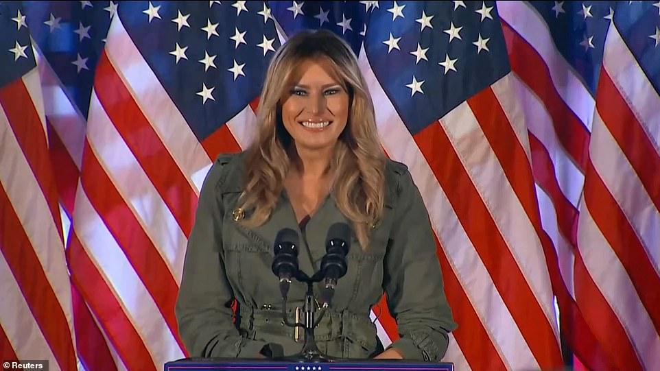 Presidencialet në SHBA, Melania mban fjalimin e parë: Biden socialist, Trump lufton për vendin