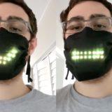 VIDEO/ Një maskë me drita që imitojnë lëvizjen e gojës