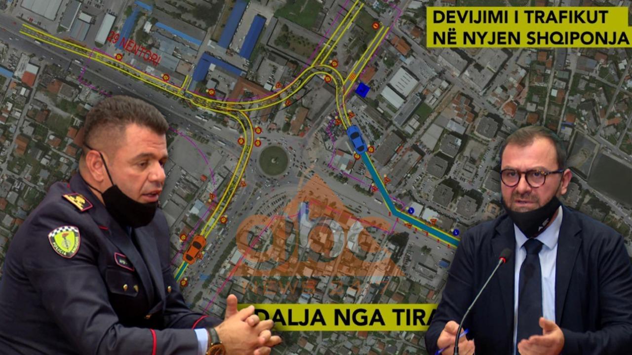 """""""3-4 muaj sfidë"""", Policia prezanton planin: Si do të devijohet trafiku tek ish- """"Shqiponja"""""""