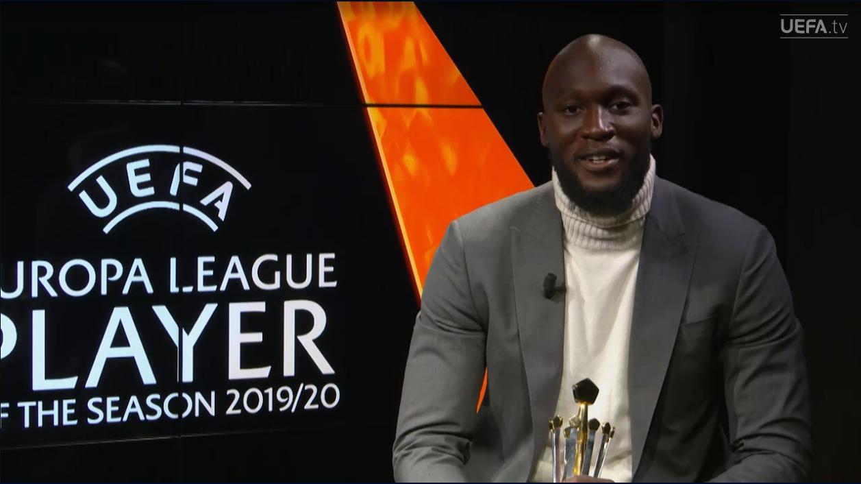 U shpall lojtari më i mirë në Europa League, Lukaku: Falenderoj familjen time