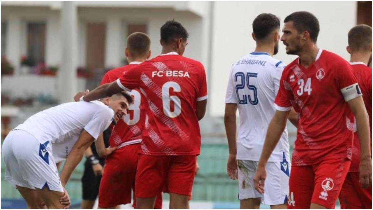 IPKO Superliga/ Besa merr tre pikët e para, tension dhe dy të kuqe në Pejë