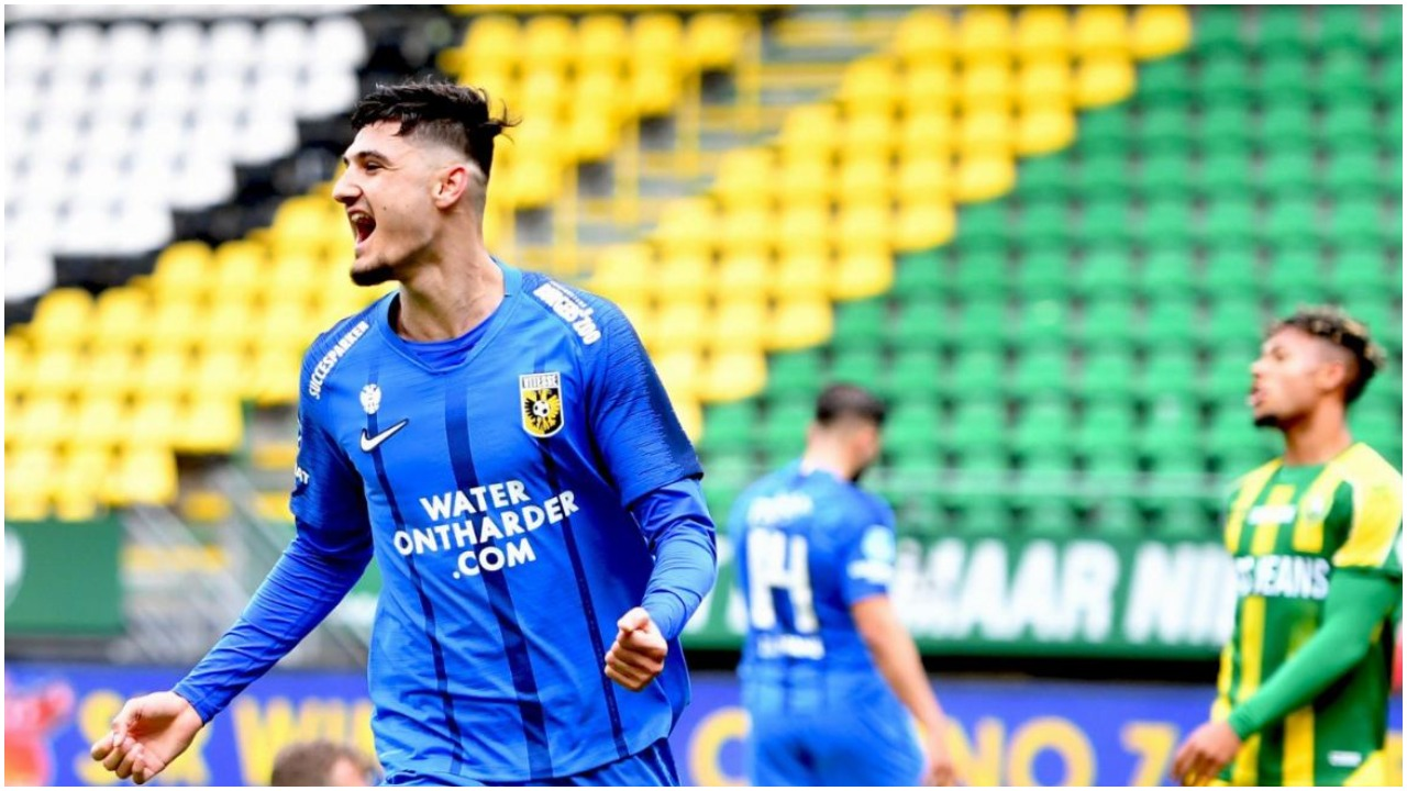 VIDEO/ Vjen nga stoli dhe shënon, Armando Broja tund rrjetën në Eredivisie