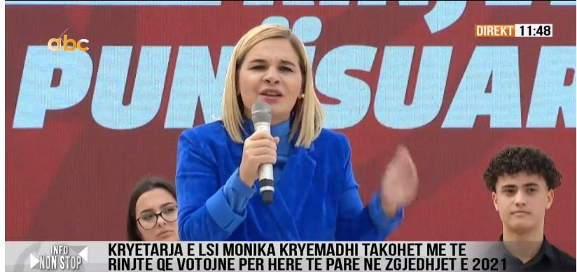 Kryemadhi: Nuk ka virus që e ndalon rininë shqiptare të ndryshojë realitetin monstruoz
