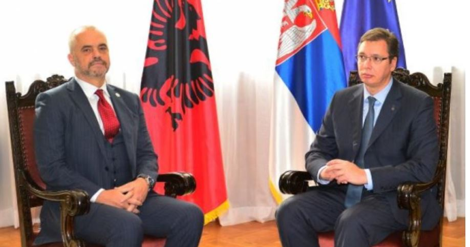 """After the accusations by the Serbian minister of creating """"Greater Albania"""", Rama asks Vucic for an explanation"""