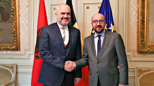 Rama zbulon bisedën me Presidentin e Këshillit Europian: Mik i çmuar i integrimit të Shqipërisë