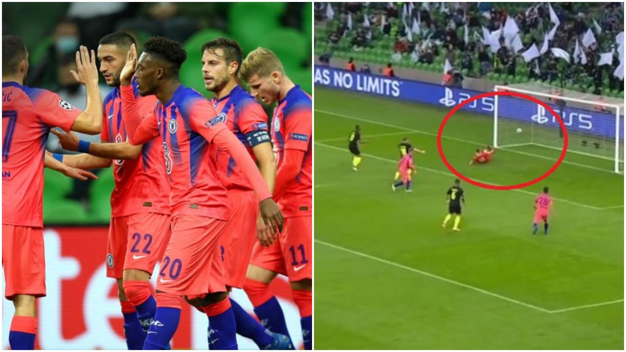 VIDEO/ Gafë fatale e portierit vendas, Chelsea gjen golin në Rusi