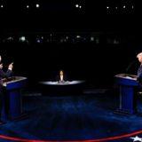 FOTO/ Trump apo Biden? – Ja kush foli më shumë në debatin final presidencial