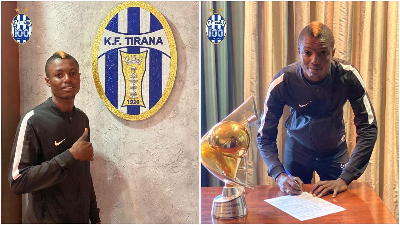 Zyrtare/ Tirana përforcon sulmin, firmos për 4 vite talenti ganez